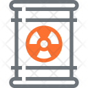Radiation Waste Pollution Icon
