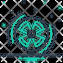 Radiation Radiation Sign Eradiation Icon