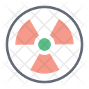 Electromagnetic Radiation Radioactive Radioactivity Icon