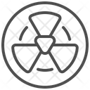 Radiation Contamination Toxic Icon