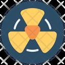 Radiation Nuclear Radiactive Icon