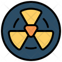 Radiation Nuclear Radiactive Icon