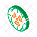 Energy Planet Radiation Icon