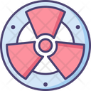 Mradiation Radiation Radioactive Icon