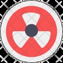 Radiation Radioactive Symbol Chemical Radiation Icon