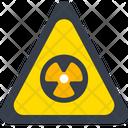 Radiation Radioactive Danger Icon