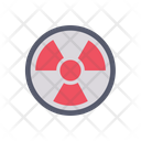 Radiation Nuclear Energy Alert Icon
