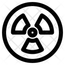 Radiation Nuclear Danger Icon