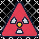 Radiation Nuclear Radioactive Icon
