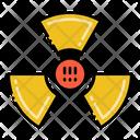 Radiation Radioactive Warning Icon