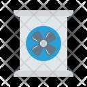 Radiation Fan Air Icon