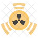 Radiation Atomic Dangerous Icon