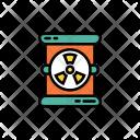 Radiation barrel Icon