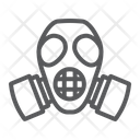 Radiation Mask Defense Icon