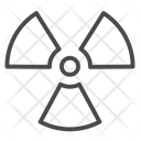 Radiation Sign Radiation Radioactive Icon