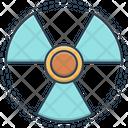 Radiation Sign Radiation Sign Icon