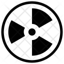 RADIATION SYMBOL Icon