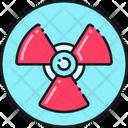 Radiation Warning Alert Warning Icon