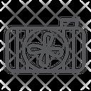 Car Radiator Auto Icon