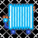 Portable Oil Radiator Icon