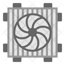 Cooling Engine Fan Icon