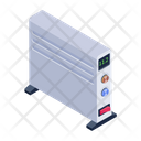 Radiator Oil Heater Electronic Appliance Icon
