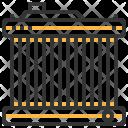 Radiator Automobile Part Icon