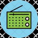 Radio Set Audio Icon
