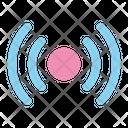 Radio Music Signal Icon