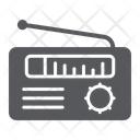 Radio Receiver Media Icon