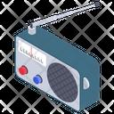 Radio Wireless Transmission Audio Device Icon