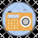 Radio Broadcasting Device Audio Icon