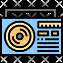 Radio Boombox Music Icon