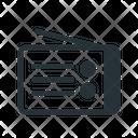 Radio Channel Program Icon