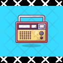 Radio Radiotelegraph Radionics Icon