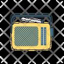 Radio Tape Antenna Icon