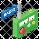 Radio Radio Broadcast Vintage Communication Icon