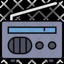 Summer Radio Holiday Icon