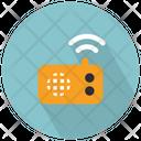 Retro Radio Device Radio Music Icon