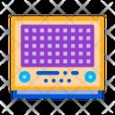 Vintage Radio Sound Icon
