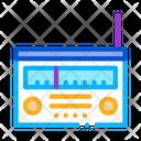 Radio Gadget Sound Icon