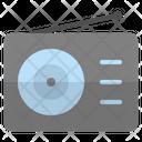 Radio Transmission Sound Icon