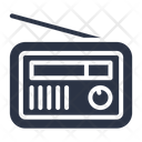 Radio Electronic Broadcast Icon