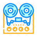 Reel To Reel Tape Player Icon