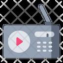 Radio Communication Antenna Icon