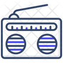 Radio Broadcasting Radio Set Icon