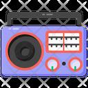 Audio Broadcaster Radio Stereo Icon