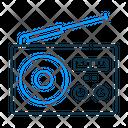 Radio Antenna Music Icon