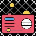 Radio Broadcast Media Radiography Icon