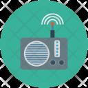 Radio Frequency Audio Icon